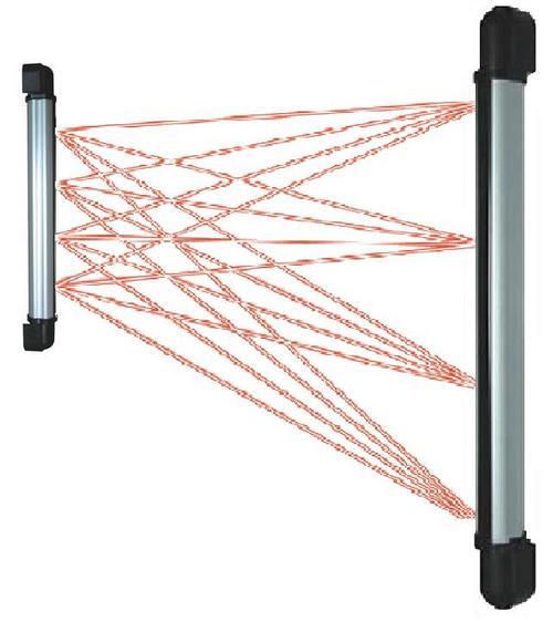 Infra Red Strip Barrier 4 Beams 70cm Length 60m Home